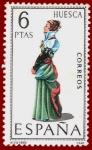 Sellos de Europa - España -  Edifil 1850 Traje típico Huesca 6 NUEVO