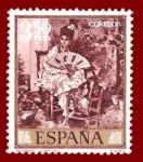 Sellos de Europa - España -  Edifil 1861 Retrato (Fortuny) 3,50 NUEVO
