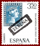 Sellos de Europa - España -  Edifil 1870 Día del sello 1968 3,50 NUEVO