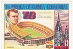 Sellos del Mundo : Africa : Guinea_Ecuatorial :  75 ANIVERSARIO F.C.BARCELONA-Nou Camp