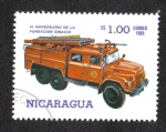Sellos de America - Nicaragua -  VI Aniversario de La Fundación SINA COI