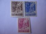 Stamps : Asia : Indonesia :  Espiritud de Indonesia.