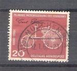 Sellos de Europa - Alemania -  75 anv. del trafico motorizado y236