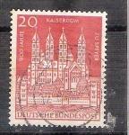 Sellos de Europa - Alemania -  Catedral de Speyer Y238