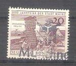 Sellos de Europa - Alemania -  RESERVADO CHALS 2000 anv de Mainz Y 247