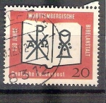 Stamps Germany -  RESERVADO MIGUEL Biblia de Wutemberg Y254