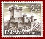 Sellos de Europa - España -  Edifil 1883 Castillo de Villasobroso 2,50 NUEVO