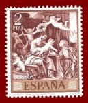 Stamps Spain -  Edifil 1914 Sagrada família (Alonso Cano) 2 NUEVO