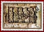 Stamps Spain -  Edifil 2163 Navidad 1973 8 NUEVO