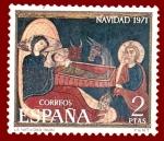 Sellos de Europa - España -  Edifil 2061 Navidad 1971 2 NUEVO