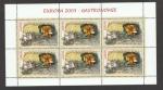 Stamps Romania -  Gastronomía europea 2005