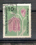 Sellos de Europa - Alemania -  Exhibición de filatelia y flora y264