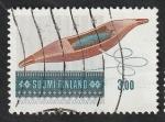Sellos de Europa - Finlandia -  825 - Arte Popular, utensilio para tejer a mano