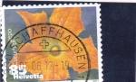 Sellos del Mundo : Europa : Suiza : flores-