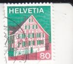 Stamps : Europe : Switzerland :  CASA TÍPICA