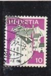 Stamps : Europe : Switzerland :  CASAS