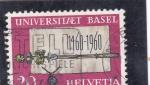 sello : Europa : Suiza : 500 ANIVERSARIO UNIVERSIDAD BASEL