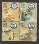 sellos de Europa - Ucrania -  Centenario de la FIFA