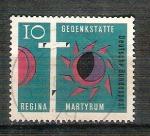 sello : Europa : Alemania : IRESERVADO CHALAS glesia Regina Martyrum Y269