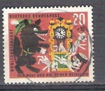 Sellos de Europa - Alemania -  Pro Beneficencia Cuentos el lobo y los siete cabritillos Y282