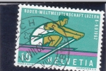 Stamps : Europe : Switzerland :  campeonato de remo Luzern