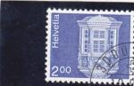 Stamps : Europe : Switzerland :  ARQUITECTURA