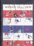Stamps : Europe : Norway :  DEPORTE