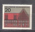 Sellos de Europa - Alemania -  RESERVADO JAVIVI Capitales del Estado Y288