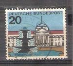 Sellos del Mundo : Europa : Alemania :  RESERVADO CHALS Capitales del Estado Y292