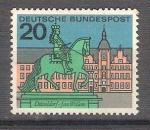 Stamps : Europe : Germany :  RESERVADO CHALS Capitales del Estado Y295