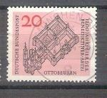 Stamps Germany -  RESERVADO MIGUEL Abadía de Ottobeuren Y296