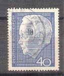 Sellos de Europa - Alemania -  Presidente Heinrich Lücbke Y306