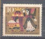 Stamps : Europe : Germany :  RESERVADO MANUEL BRIONES Pro Beneficencia Cuentos La Bella Durmiente Y315
