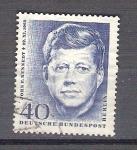 Stamps : Europe : Germany :  RESERVADO MANUEL BRIONES John F. KKennedy Y321