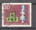 Stamps Germany -  Exposición Internacional de Transportes y Comunicaciones Y343