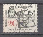 Sellos de Europa - Alemania -  Matthias Claudius Y329