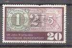 Sellos del Mundo : Europa : Alemania :  RESERVADO JAVIER AVILA 125 Aniversario del Sello Y349