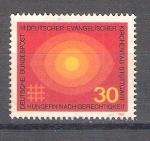 Sellos de Europa - Alemania -  RESERVADO MANUEL BRIONES Sínodo Evangélico Y458