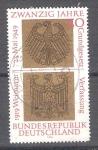 Sellos de Europa - Alemania -  Constitución de Weimar Y448