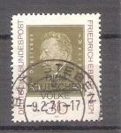 Sellos de Europa - Alemania -  Friedrich Ebert Y523