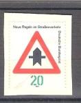 Sellos de Europa - Alemania -  RESERVADO CHALS Seguridad Vial Y529