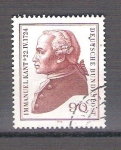Stamps Germany -  RESERVADO MANUEL BRIONES Enmanuel Kant Y655