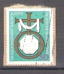 sello : Europa : Alemania : RESERVADO CHALSPeregrinaje a Aachen Y863