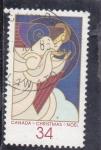 Stamps : America : Canada :  NAVIDAD