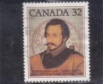 Stamps : America : Canada :  HUMPHREY GILBERT-explorador