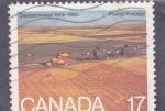 sello : America : Canadá : panorámica de Saskatchewan 1905-1980