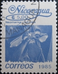 Stamps Nicaragua -  Flower