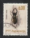 Sellos de Europa - Yugoslavia -  1051 - Insecto, Lucanus cervus
