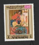 Stamps Yemen -  Navidad 1969, San Jorge y el Dragón