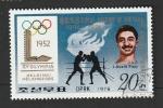 Sellos de Asia - Corea del norte -  1501 K - László Papp, boxeo, Medalla de oro en las Olimpiadas de Helsinki 1952